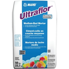 Mapei UltraFlor Gray Mortar