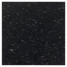 Imperial Texture Classic Black Vinyl Composition Tile (VCT) 51910