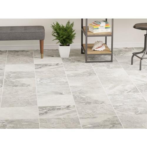 Prisma Gris Ceramic Tile - 13 x 13 - 100040450 | Floor and Decor on