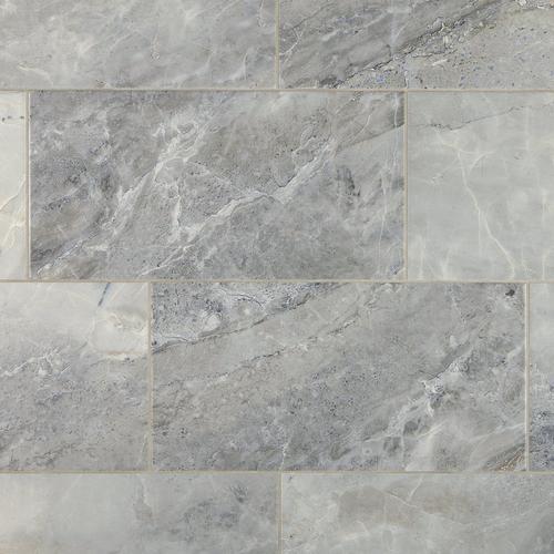 Prisma Gris Ceramic Tile - 12 x 24 - 100040476   Floor and Decor