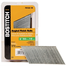 Bostitch 15 Gauge 2in. FN Style Angled Finish Nails