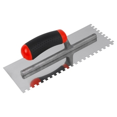 Brutus Max Square-Notched Mega Grip Trowel