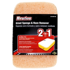 Brutus Grout Sponge and Haze Remover