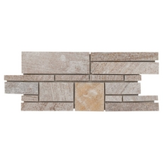 Olympic Beige Random Decorative Linear Slate Mosaic