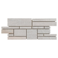 Olympic White Random Decorative Linear Slate Mosaic