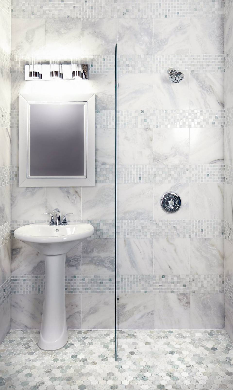 Get Inspired: Marble Bathrooms
