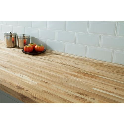 Oak Builder Grade Butcher Block Countertop 8ft 96in X 25in 100054337 Floor And Decor