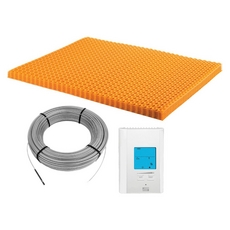 Schluter-Ditra-Heat-E-Kit All-inclusive Floor Warming Kit