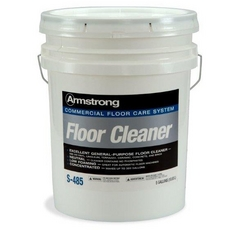 Armstong S-485 Commercial Vinyl Composition Tile Floor Cleaner