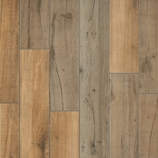 Birch Forest Noce Wood Plank Porcelain Tile