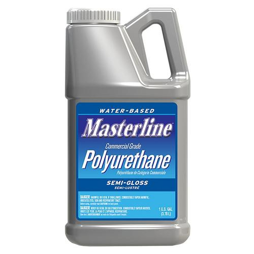 Masterline Polyurethane Semi Gloss Wood Finish 1gal 100065143