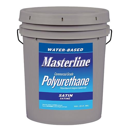 Masterline Polyurethane Satin Wood Finish 5gal 100065184