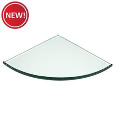New! Glass Corner Shelf