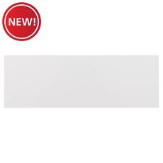 New! Bright White Ice Ceramic Wall Tile