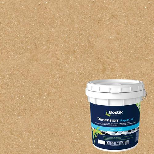 Bostik Dimension Amber Pre-Mixed Glass-Filled Grout - 9lb