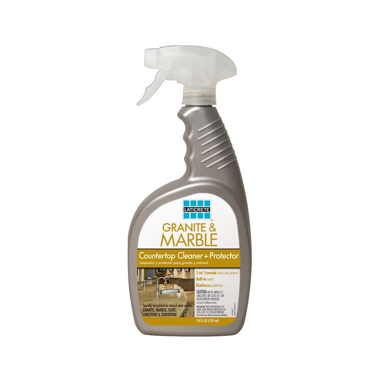 Laticrete Granite And Marble Countertop Cleaner And Protector   24oz.    100077635 | Floor And Decor
