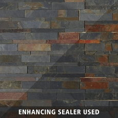 Mustang Split Face Slate Panel Ledger