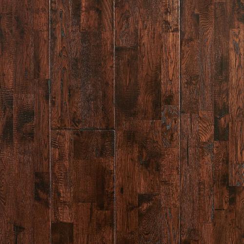 Vintage Oak Hand Scraped Solid Hardwood 3 4in X 8in