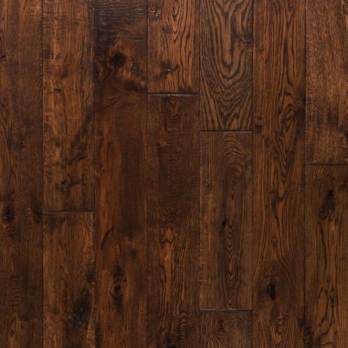Richmond Oak Hand Scraped Solid Hardwood 58in X 4 34in