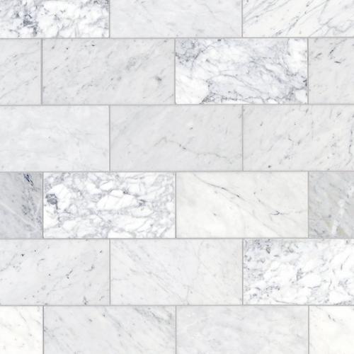 Bianco Carrara Marble Tile 6 X 12 100084961 Floor And Decor