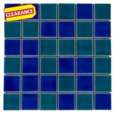 Clearance! Carmi Multi Porcelain Mosaic