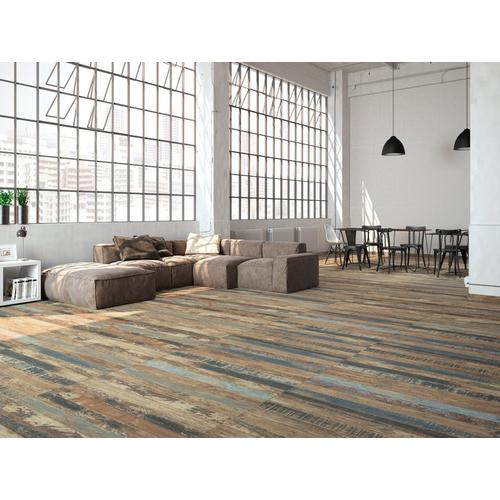 Luck Brown Wood Plank Porcelain Tile - 8 x 45 - 100085547 | Floor ...