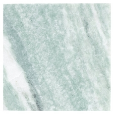 Caribbean Green Brushed Marble Tile