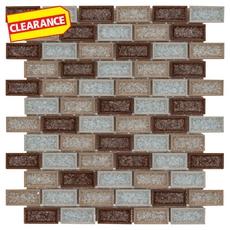 Clearance! Dorset Crackle Glass Mosaic