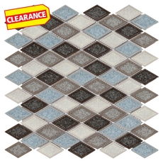 Clearance! Exeter Diamond Glass Mosaic