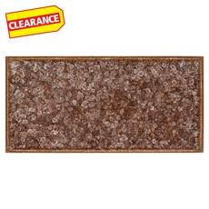 Clearance! Dark Chocolate Crackle Glass Tile