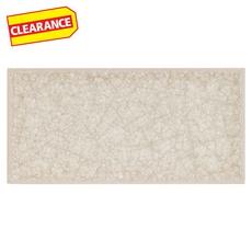 Clearance! Flax Crackle Glass Tile