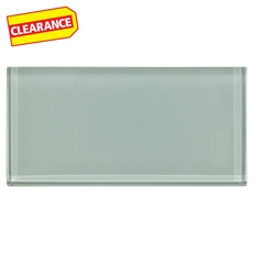 Clearance! Pure Sage Glass Tile