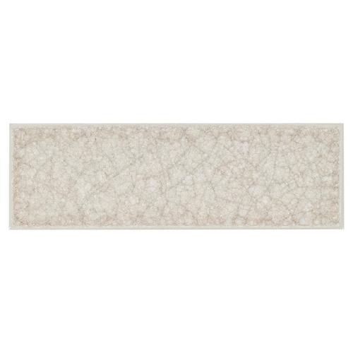 Taupe Crackle Glass Tile 3 X 9 100086339 Floor And Decor - Glass-tile-backsplash-decoration