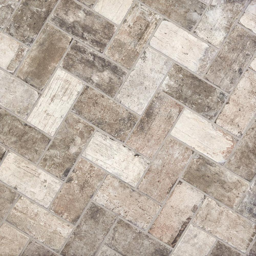 New York Soho Brick Look Porcelain Tile   4in. X 8in.   100086917 | Floor  And Decor