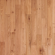Timberclick Natural Oak Solid Hardwood