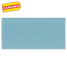 Clearance! Pure Cadet Glass Tile