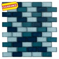 Clearance! Atlantis Glass Pool Tile Mosaic