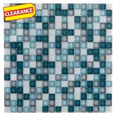 Clearance! Triton Glass Pool Tile Mosaic