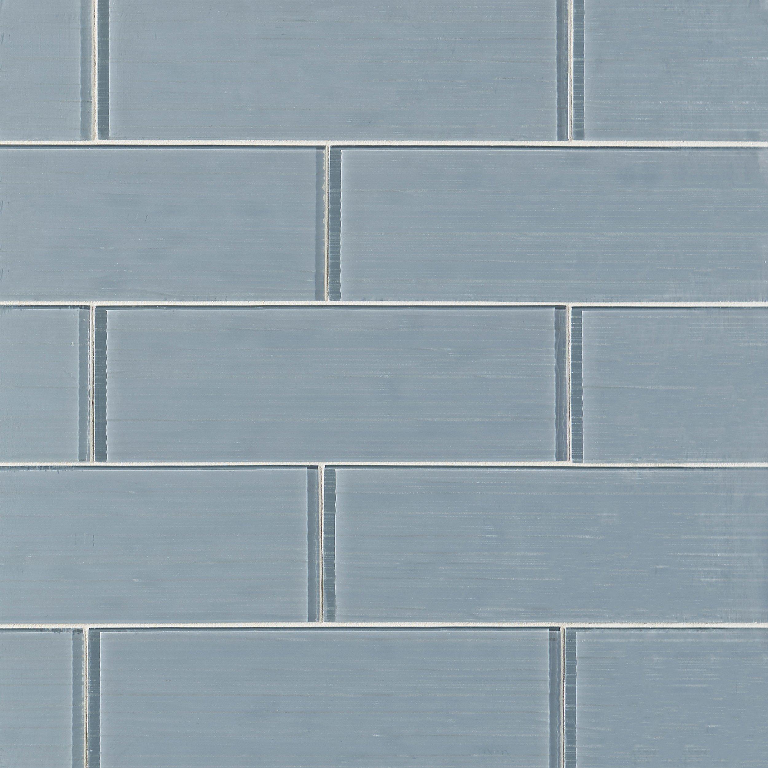 - Icelandic Blue Ice Glass Tile - 4 X 12 - 100088426 Floor And Decor