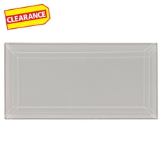 Clearance! Pure Wool Beveled Glass Tile