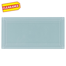 Clearance! Pure Spa Beveled Glass Tile