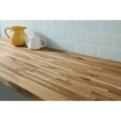 Fumed Oak Butcher Block Countertop 8ft 96in X 25in 100088822 Floor And Decor