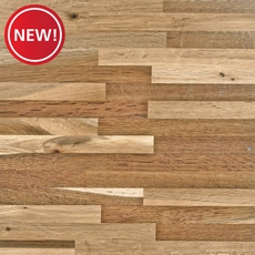 New! Fumed Oak Butcher Block Backsplash 8ft.