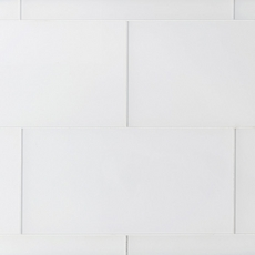 Pure Snow Glass Tile