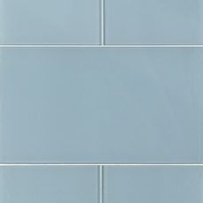 Pure Spa Blue Glass Tile