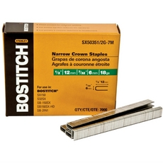 Bostitch 18 Gauge Galvanized 1/2in. Finish Staples