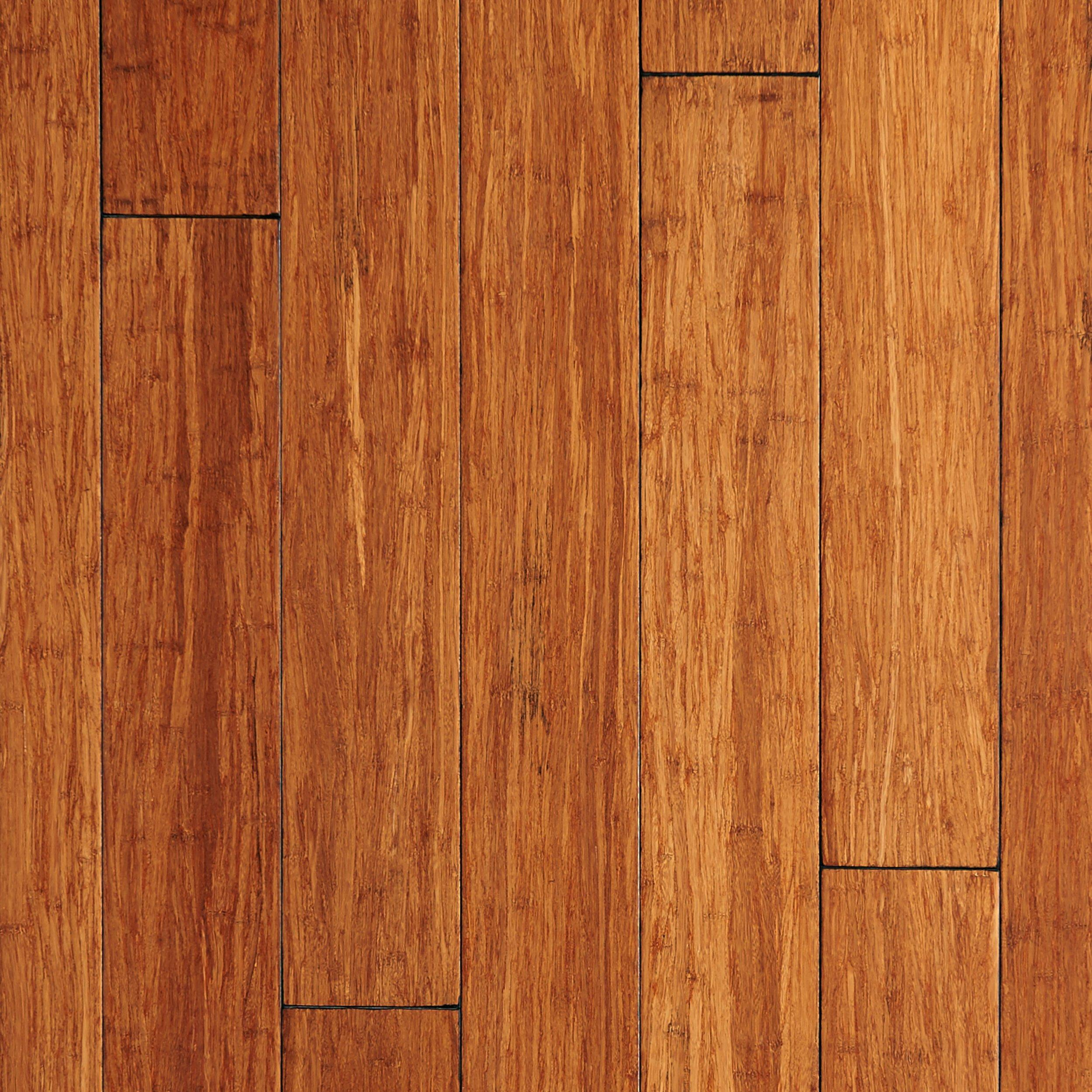ecoforest patina hand scraped solid stranded bamboo 12in x 5in floor and decor - Bamboo Wood Flooring
