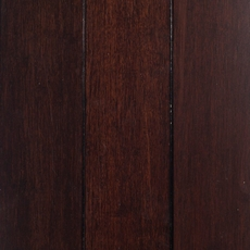 Eco Forest Dark Walnut Locking Solid Stranded Bamboo