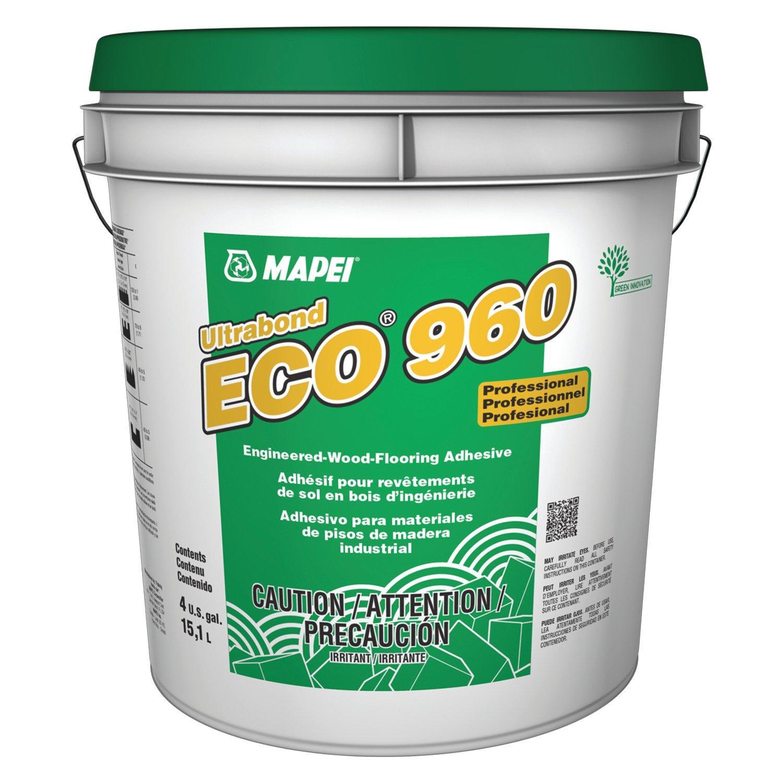 Mapei Ultrabond Eco 960 High Tack Latex Based Wood Adhesive   4 Gal    100095983 | Floor And Decor