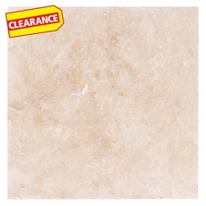 Clearance! Myra Honed and Filled Travertine Tile